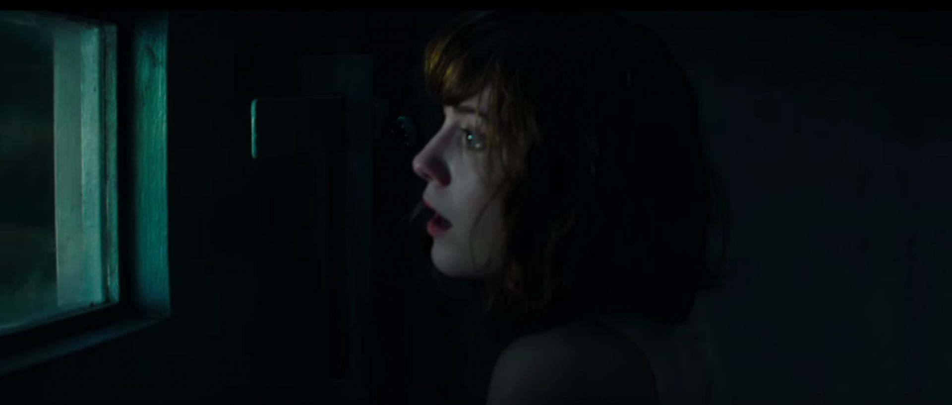 Why is the color in the movie Cloverfield mostly a darkish green?