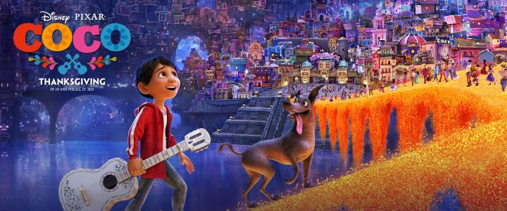 Family Movie: Coco Saturday March 10th @ 12:30PM (All Ages)