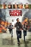 5 Days of War poster