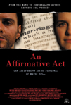 An Affirmative Act poster