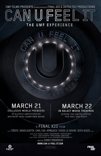 'CAN U FEEL IT - The UMF Experience poster