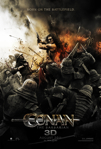 Conan the Barbarian 3D poster