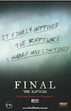 Final The Rapture poster