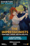 The Impressionists poster