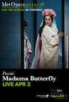 The Met: Live in HD - Madama Butterfly poster