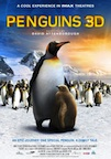 Penguins 3D poster