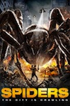 Spiders 3D poster