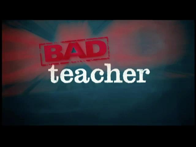 cameron diaz bad teacher poster. Bad Teacher